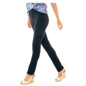 LILLY PULITZER ONYX BLACK ALESSIA DINNER PANT